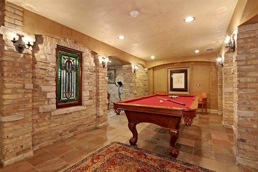 Real Estate Photography - 6087 N Kirkwood, Chicago, IL, 60646 - Recreational Area/Exercise Room/Theater Room/Full