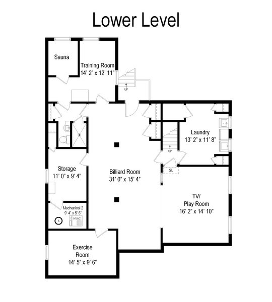 Real Estate Photography - 6087 N Kirkwood, Chicago, IL, 60646 - Floor Plan