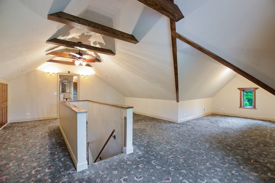 Real Estate Photography - 6087 N Kirkwood, Chicago, IL, 60646 - 3rd Level Loft/5th Bedroom/Full Bath/Additional St