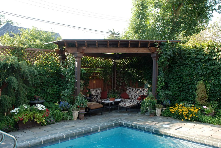Real Estate Photography - 6087 N Kirkwood, Chicago, IL, 60646 - Cabana
