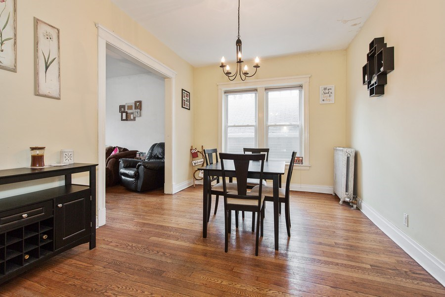 Real Estate Photography - 1341 W Waveland Ave, Unit 1 E, Chicago, IL, 60613 - Dining Room