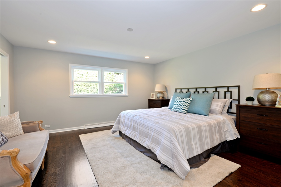 Real Estate Photography - 350 Sunset Dr, Northfield, IL, 60093 - Master Bedroom
