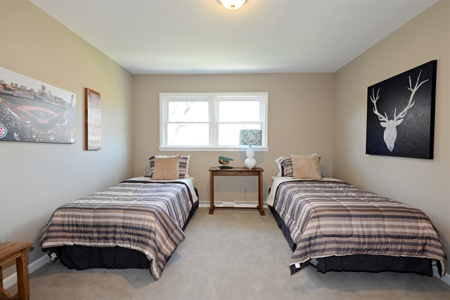 Real Estate Photography - 350 Sunset Dr, Northfield, IL, 60093 - 3rd Bedroom