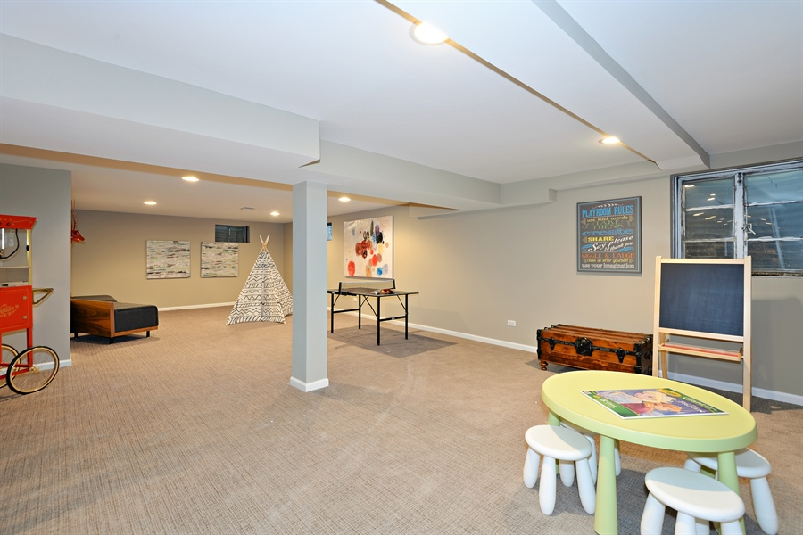 Real Estate Photography - 350 Sunset Dr, Northfield, IL, 60093 - Kids Area