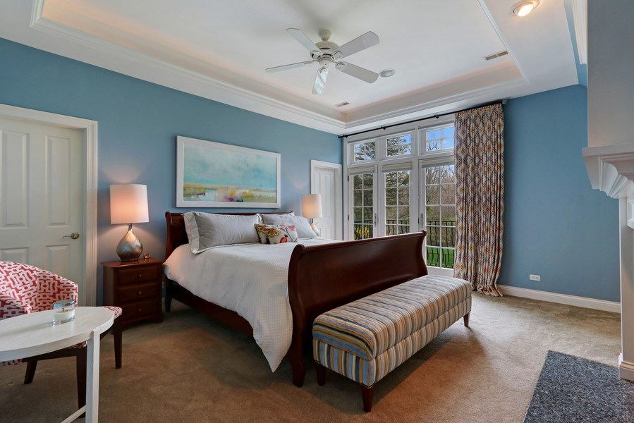 Real Estate Photography - 597 Golf Ln, Lake Forest, IL, 60045 - Master Bedroom