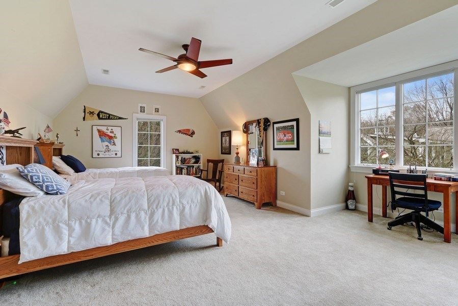 Real Estate Photography - 597 Golf Ln, Lake Forest, IL, 60045 - 2nd Bedroom