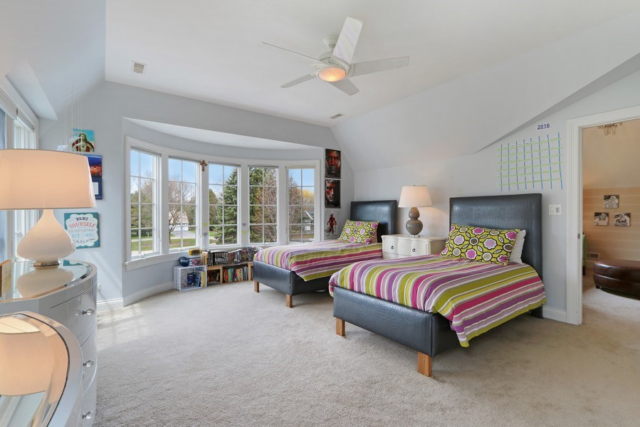 Real Estate Photography - 597 Golf Ln, Lake Forest, IL, 60045 - 3rd Bedroom