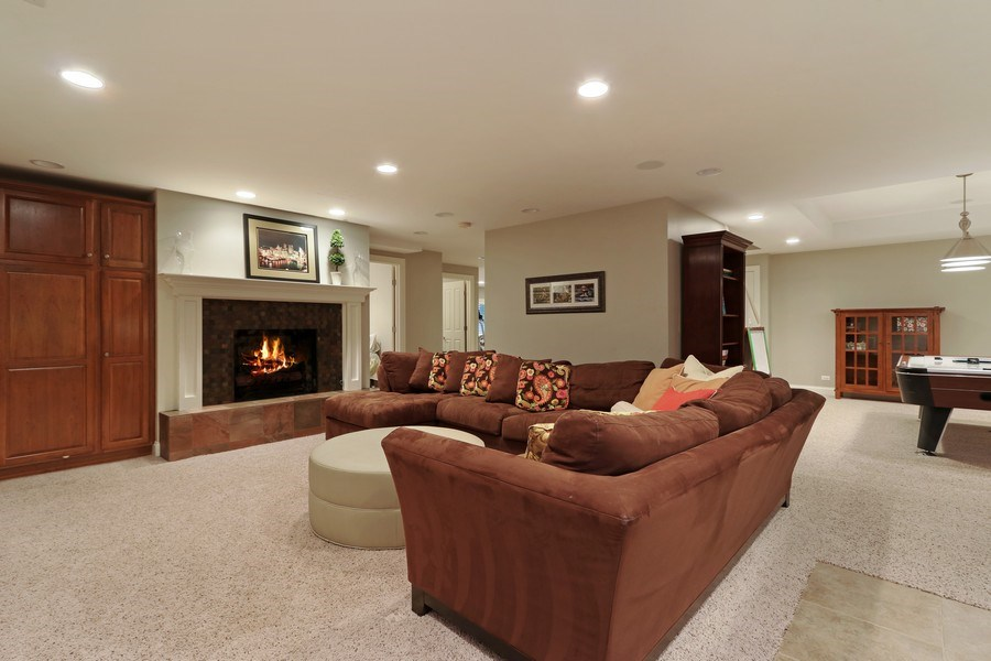 Real Estate Photography - 597 Golf Ln, Lake Forest, IL, 60045 - Basement