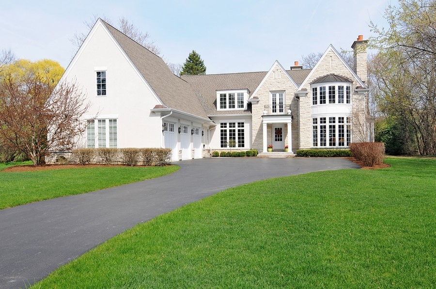 Real Estate Photography - 597 Golf Ln, Lake Forest, IL, 60045 -