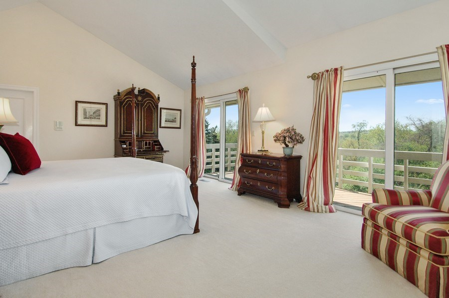 Real Estate Photography - 306 Ridge Rd, Barrington Hills, IL, 60010 - Master Bedroom