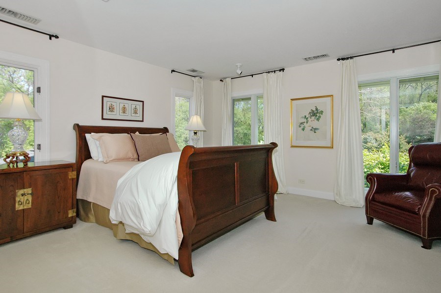 Real Estate Photography - 306 Ridge Rd, Barrington Hills, IL, 60010 - 2nd Bedroom
