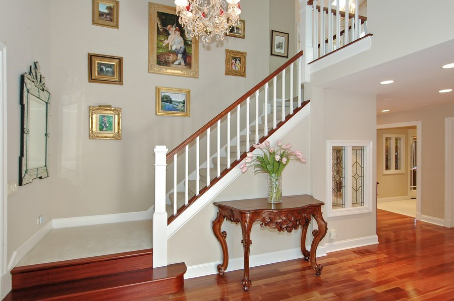 Real Estate Photography - 306 Ridge Rd, Barrington Hills, IL, 60010 - Foyer