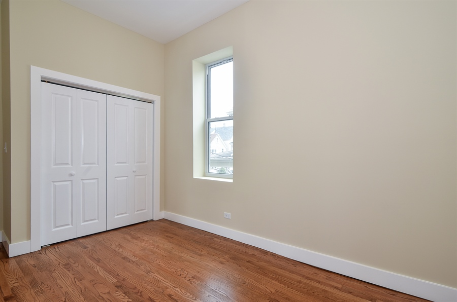 Real Estate Photography - 3659 W Shakespeare, Chicago, IL, 60647 - Guest Bedroom