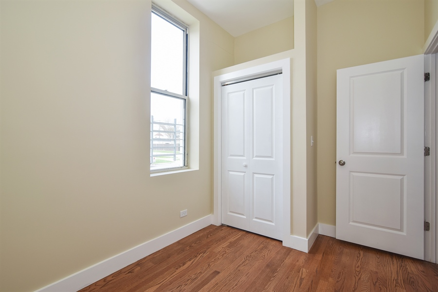Real Estate Photography - 3659 W Shakespeare, Chicago, IL, 60647 - 2nd Bedroom