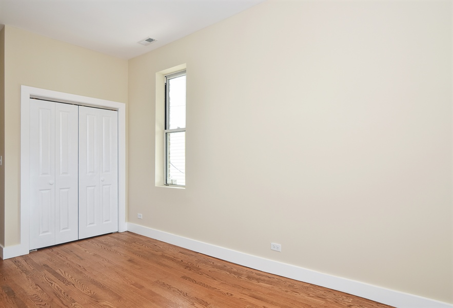 Real Estate Photography - 3659 W Shakespeare, Chicago, IL, 60647 - 3rd Bedroom