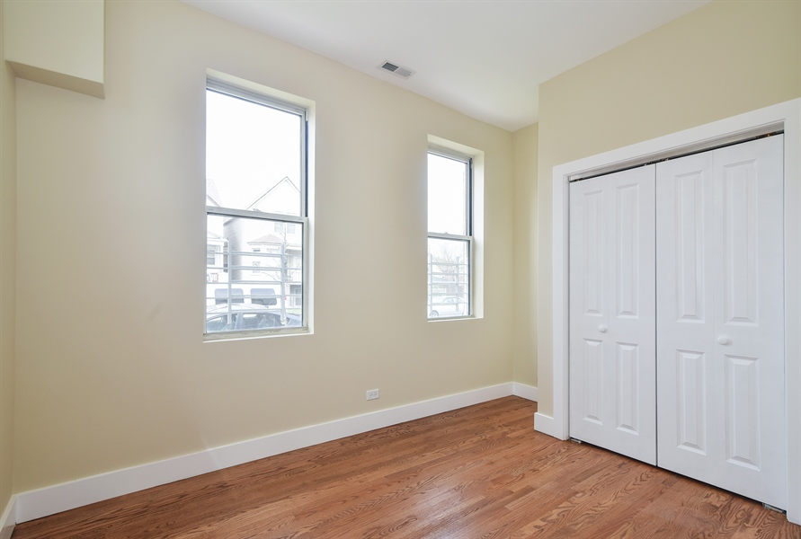 Real Estate Photography - 3659 W Shakespeare, Chicago, IL, 60647 - 4th Bedroom