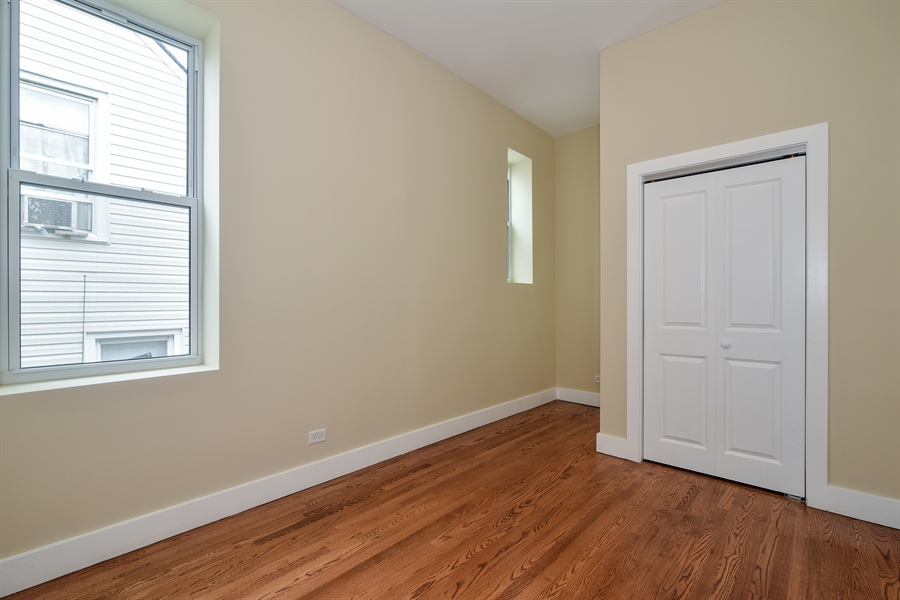 Real Estate Photography - 3659 W Shakespeare, Chicago, IL, 60647 - 5th Bedroom