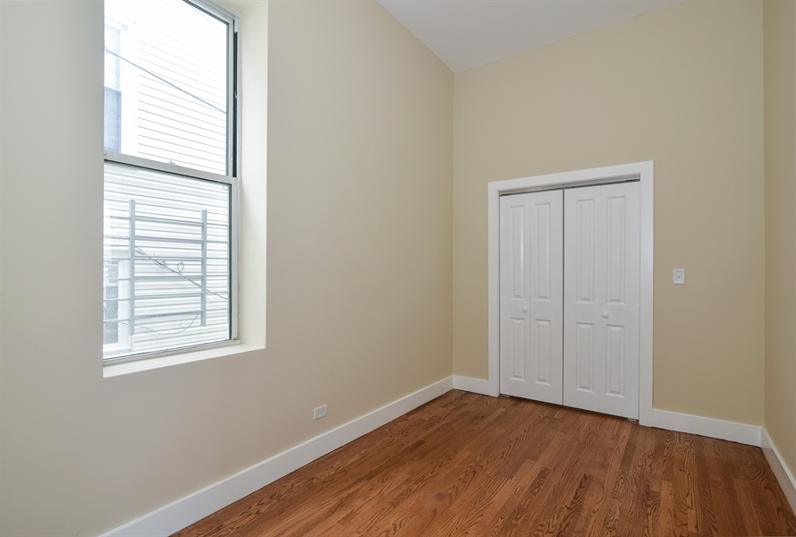Real Estate Photography - 3659 W Shakespeare, Chicago, IL, 60647 - Bedroom