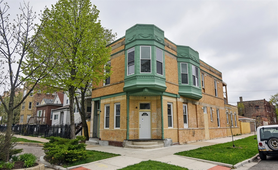 Real Estate Photography - 3659 W Shakespeare, Chicago, IL, 60647 - Front View