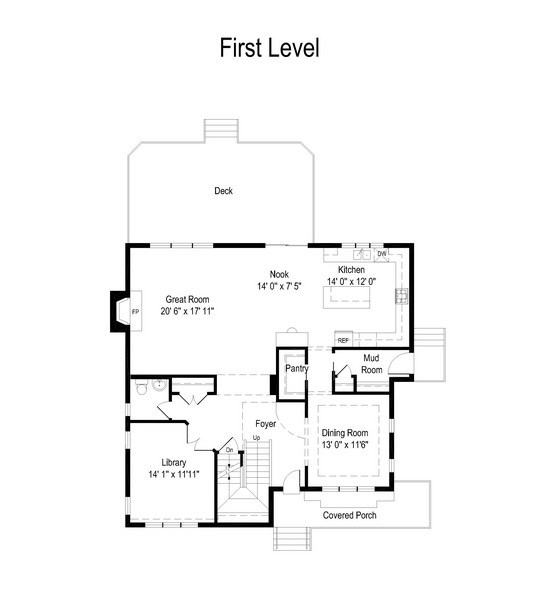 Real Estate Photography - 915 Rolling Pass Ave, Glenview, IL, 60025 - Floor Plan