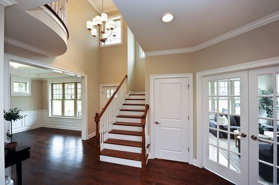 Real Estate Photography - 915 Rolling Pass Ave, Glenview, IL, 60025 - Foyer
