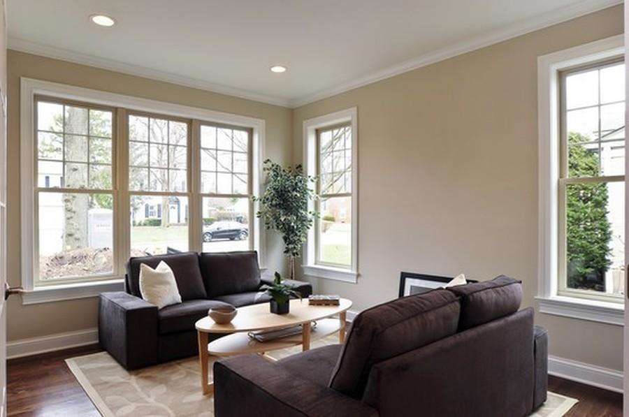 Real Estate Photography - 915 Rolling Pass Ave, Glenview, IL, 60025 - Living Room or Optional Office