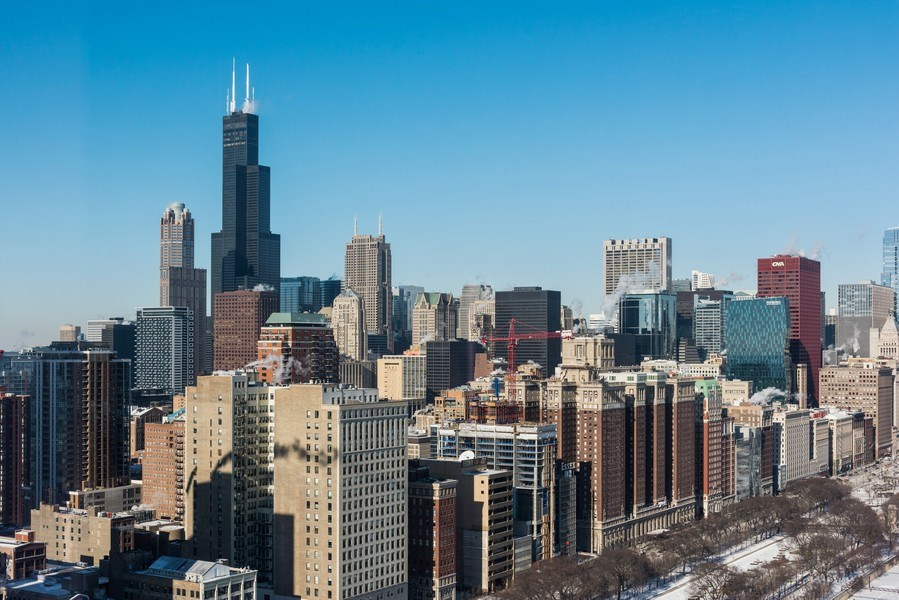 Real Estate Photography - 1211 S Prairie, Unit 3101, Chicago, IL, 60616 - City View
