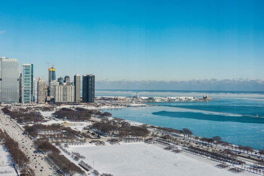 Real Estate Photography - 1211 S Prairie, Unit 3101, Chicago, IL, 60616 - View