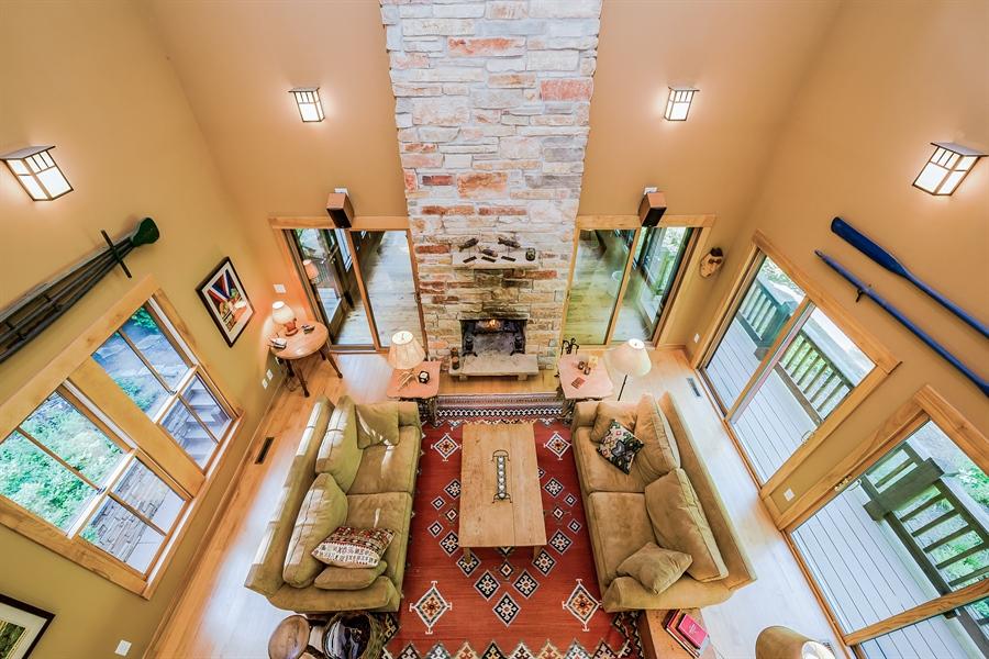 Real Estate Photography - 44 Camp Madron, Buchanan, MI, 49107 - Living Room