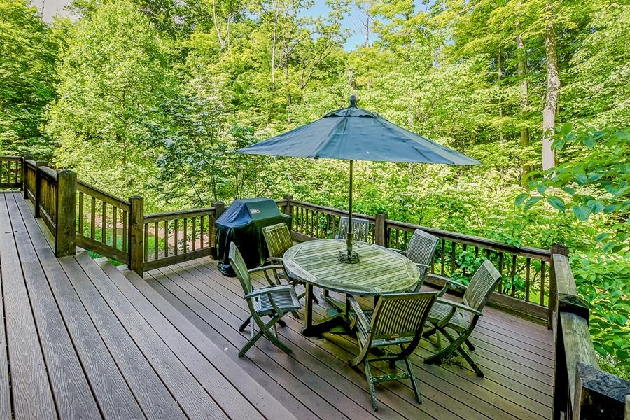 Real Estate Photography - 44 Camp Madron, Buchanan, MI, 49107 - Terrace