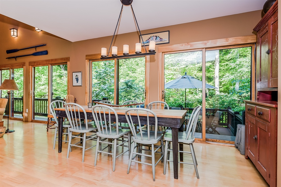 Real Estate Photography - 44 Camp Madron, Buchanan, MI, 49107 - Dining Room