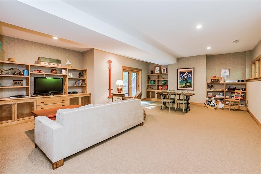 Real Estate Photography - 44 Camp Madron, Buchanan, MI, 49107 - Family Room