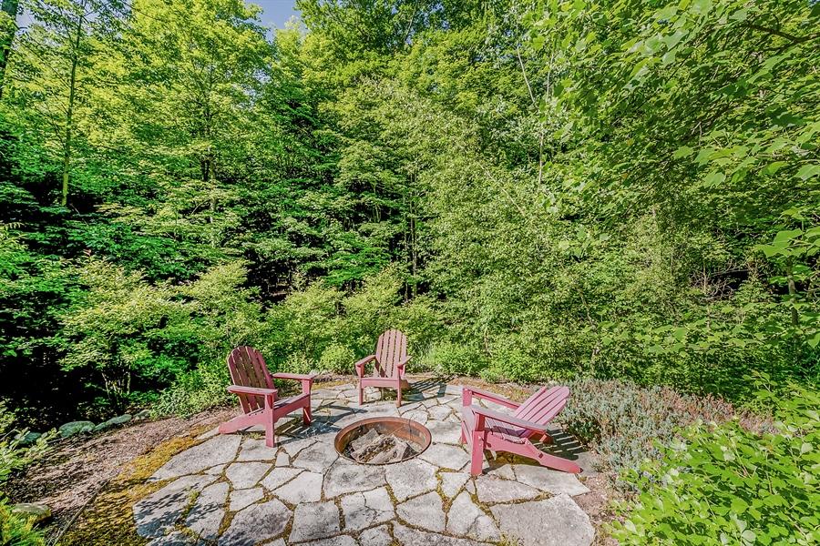 Real Estate Photography - 44 Camp Madron, Buchanan, MI, 49107 - Sundeck