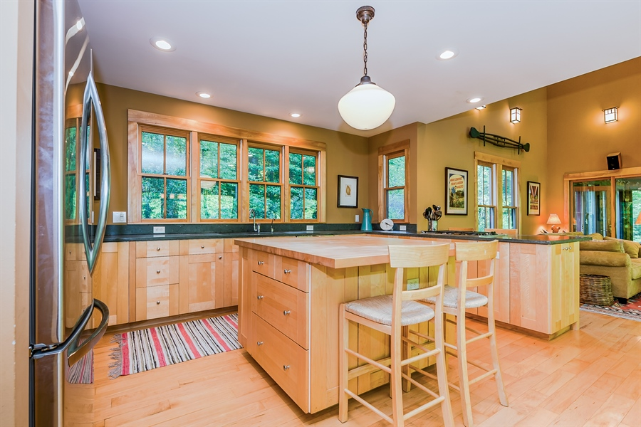 Real Estate Photography - 44 Camp Madron, Buchanan, MI, 49107 - Kitchen / Dining Room