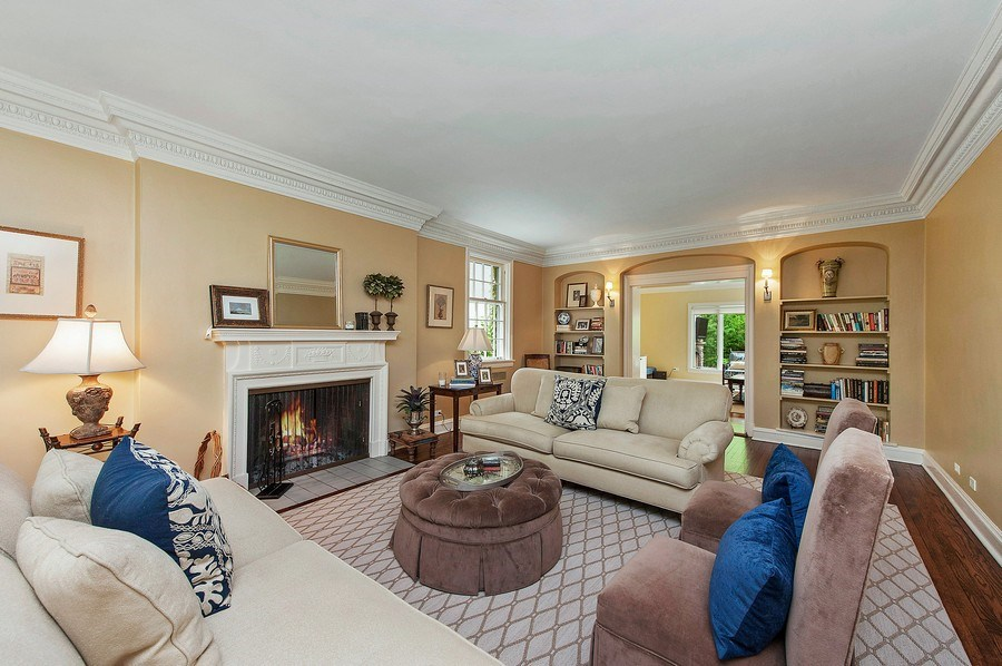 Real Estate Photography - 3022 Payne St, Evanston, IL, 60201 - Living Room