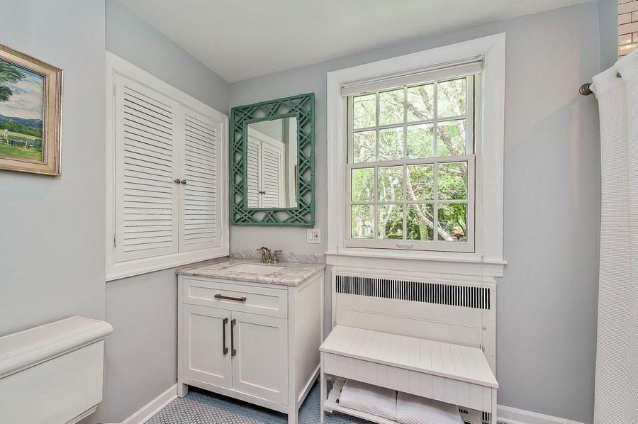Real Estate Photography - 3022 Payne St, Evanston, IL, 60201 - 3rd Bathroom