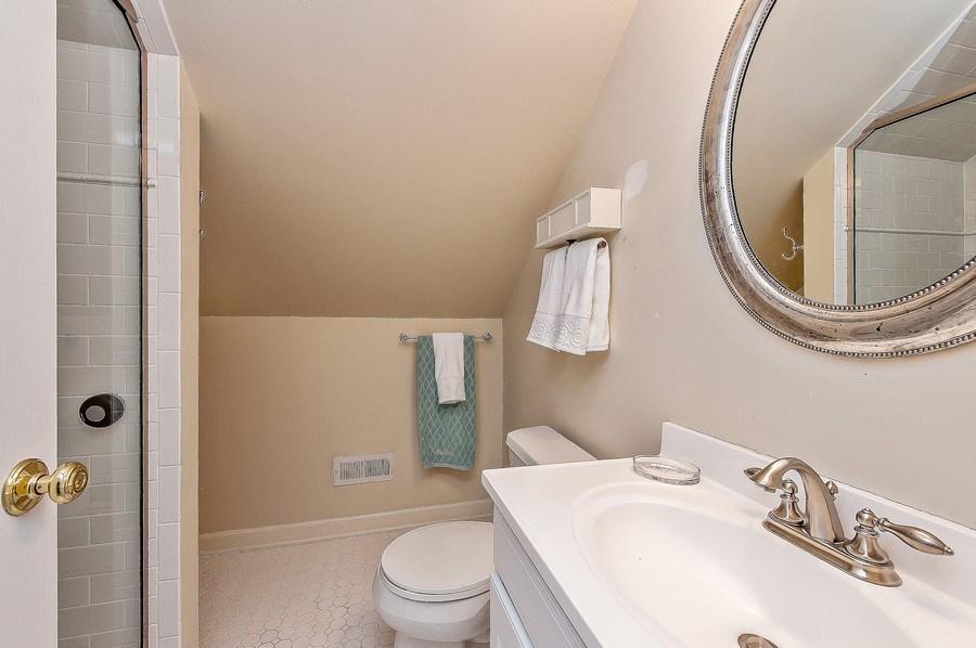 Real Estate Photography - 3022 Payne St, Evanston, IL, 60201 - 4th Bathroom