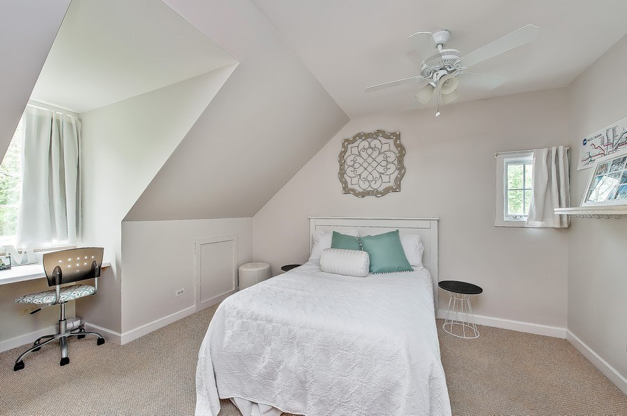 Real Estate Photography - 3022 Payne St, Evanston, IL, 60201 - Guest Bedroom