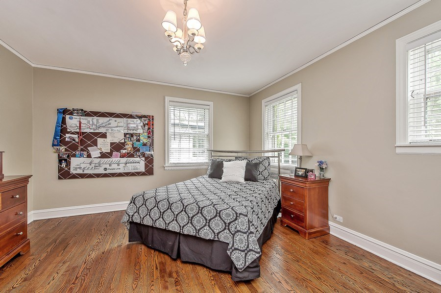 Real Estate Photography - 3022 Payne St, Evanston, IL, 60201 - 2nd Bedroom