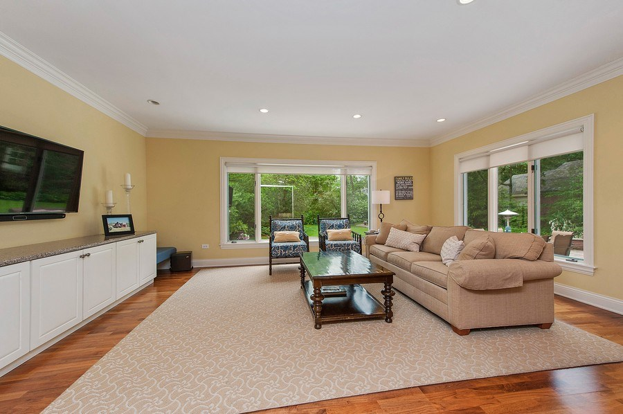 Real Estate Photography - 3022 Payne St, Evanston, IL, 60201 - Family Room