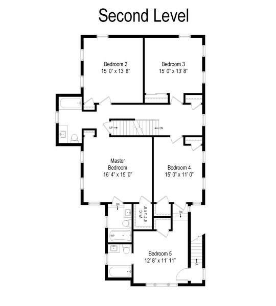 Real Estate Photography - 3022 Payne St, Evanston, IL, 60201 - Floor Plan