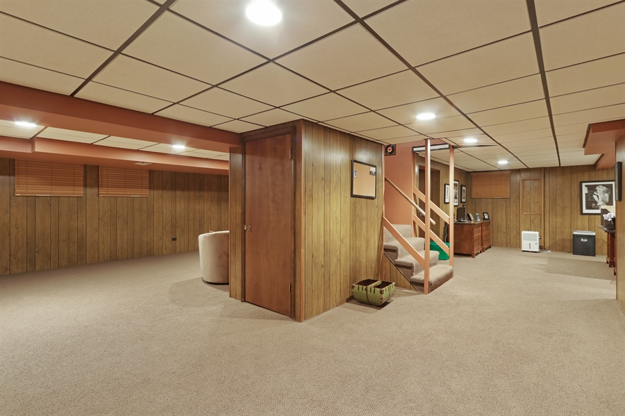 Real Estate Photography - 4541 Tall Oak Ln, Rolling Meadows, IL, 60008 - Basement