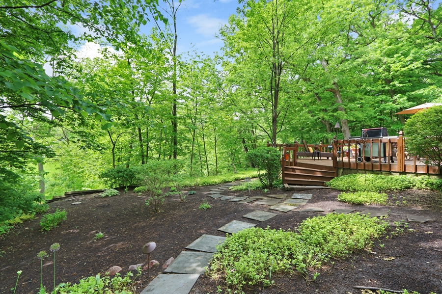 Real Estate Photography - 4541 Tall Oak Ln, Rolling Meadows, IL, 60008 - Back Yard