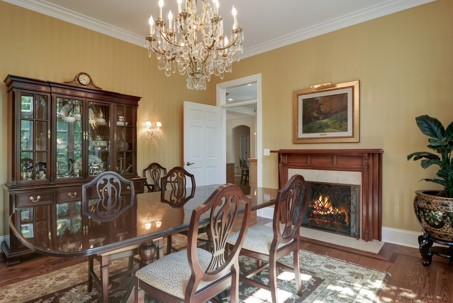 Real Estate Photography - 4302 Olde Indian Creek Ln, Long Grove, IL, 60047 - Dining Room