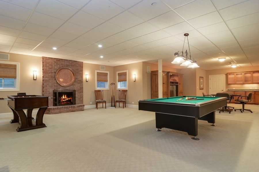 Real Estate Photography - 4302 Olde Indian Creek Ln, Long Grove, IL, 60047 - Recreation Room