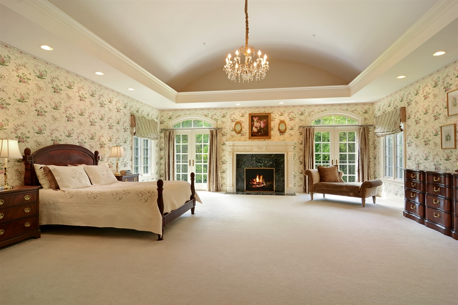 Real Estate Photography - 4302 Olde Indian Creek Ln, Long Grove, IL, 60047 - Master Bedroom