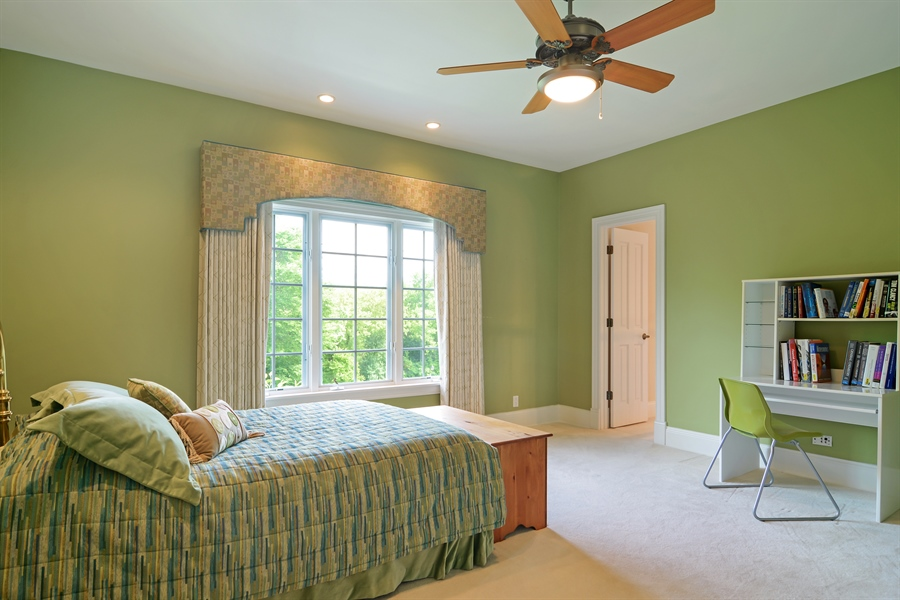 Real Estate Photography - 4302 Olde Indian Creek Ln, Long Grove, IL, 60047 - 3rd Bedroom