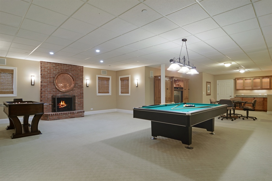 Real Estate Photography - 4302 Olde Indian Creek Ln, Long Grove, IL, 60047 - Lower Level