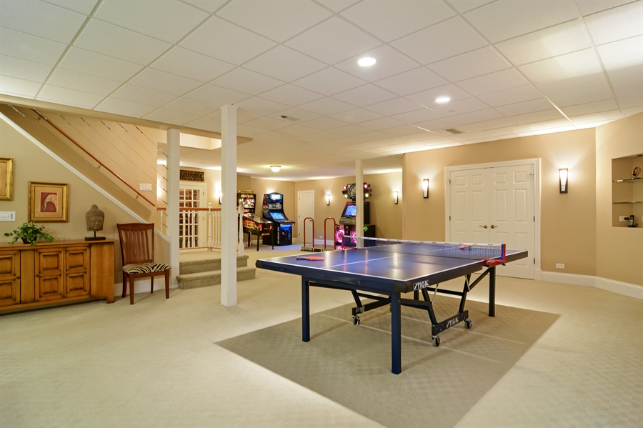 Real Estate Photography - 4302 Olde Indian Creek Ln, Long Grove, IL, 60047 - Game Room
