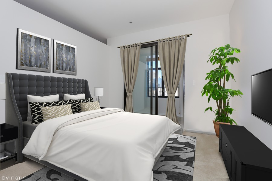 Real Estate Photography - 910 S Michigan Avenue, 1705, Chicago, IL, 60605 - Guest Bedroom
